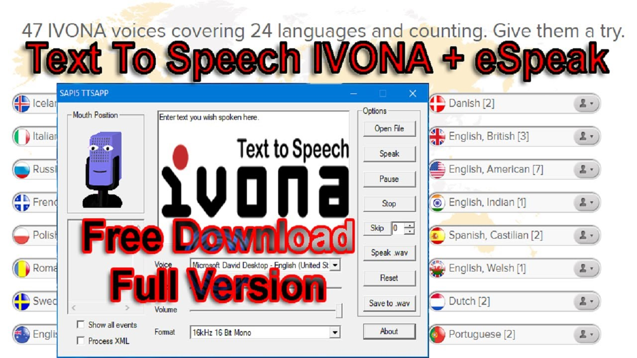 Text To Speech IVONA Free Download Full Version 2017| How To Get IVONA Text  To Speech Free Download