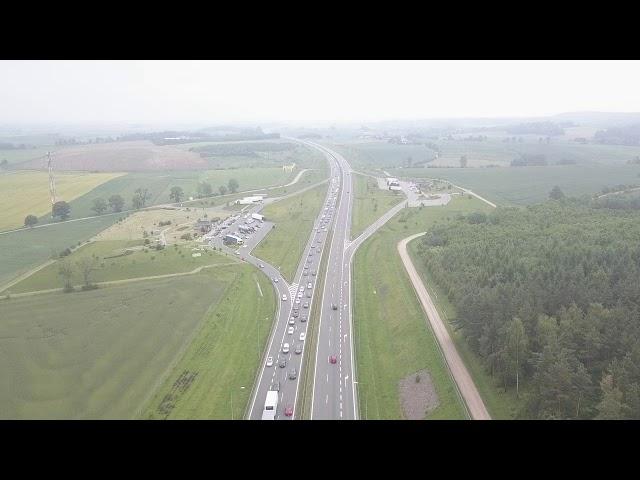 Boże Ciało - Pandemia, długi weekend, Autostrada A1 Amber One