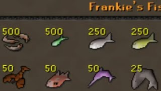 This shop sells raw sharks for 300gp each - Old School RuneScape [OSRS] 1m+ gp money making per hour