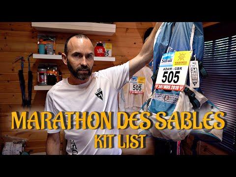 MARATHON DES SABLES 2019 KIT TIPS | PACKING LIST, INSIGHTS & ADVICE