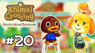 Animal Crossing : Happy Home Designer #20 - Un resto de qualitay !
