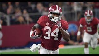 Alabama RB - Damien Harris Highlights 2016 (HD)