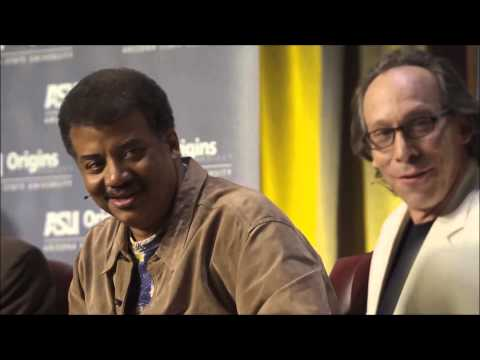 Bill Nye makes fun of Neil deGrasse Tyson's reply to Dawkins, making Lawrence Krauss glad