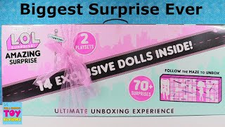 LOL Amazing Surprise OMG Doll 14 Exlusive Dolls Unboxing Toy Review | PSToyReviews
