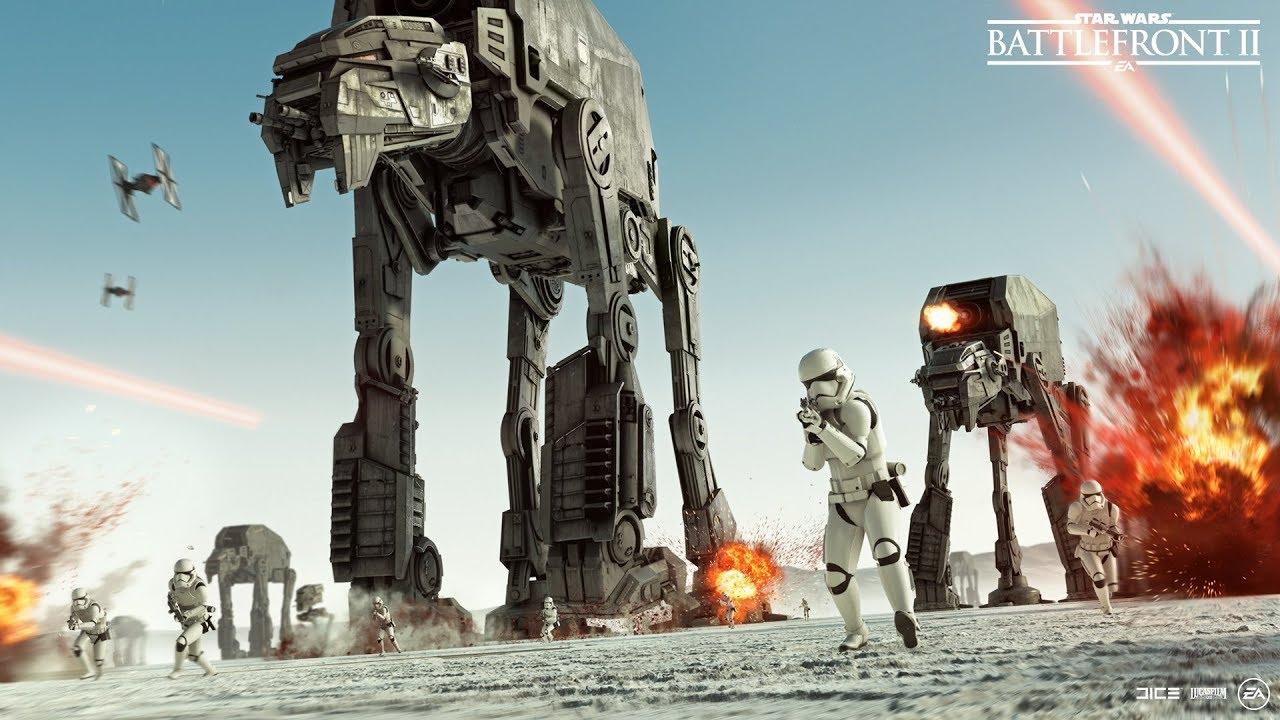 Star Wars Battlefront I, II, III: Новый трейлер Battlefront II посвящен выходу «Последних джедаев»