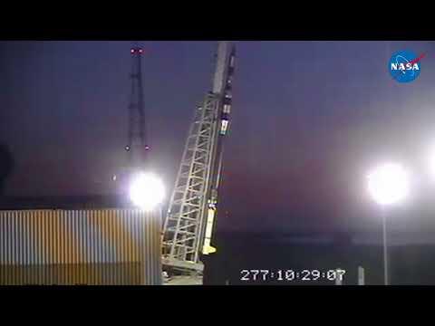NASA Launching Parachute Test Platform from Wallops   ASPIRE Black Brant IX launch 4 10 17
