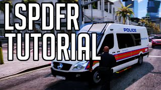 How to Download/Install/Play LSPDfr Mod GTA 5