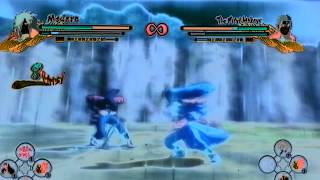 Uns3-Madara(Me) vs Hashirama(Friend)|Speed Battle!