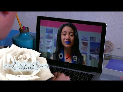 Esther acepta el reto final de La Ballena Azul | Cuando encallan las ballenas | La Rosa de Guadalupe