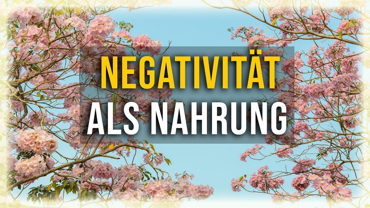 Auf diese Weise wird Negativität zu Bewusstseinsnahrung - Eckhart Tolle