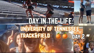WEEK IN THE LIFE - Day 2   D1 STUDENT-ATHLETE   UNIVERSITY OF TENNESSEE
