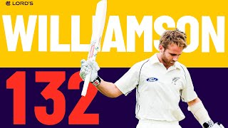 Kane Williamson Hits Magnificent 132 | England v NZ 2015 | Lord's