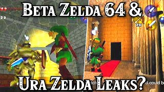 Major Beta Zelda 64 DD & URA Leaks