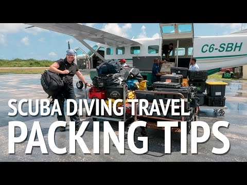 Scuba Diving Travel Packing Tips from Jill Heinerth
