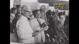 Discurso toma de posesión Juan Bosch 27 de Febrero 1963