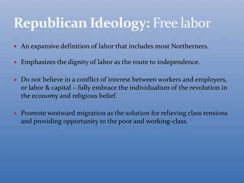 Free Soil, Free Labor, Free Men: The Rise of the Republican Party