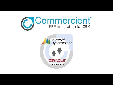 Commercient SYNC for JD Edwards and Microsoft Dynamics CRM