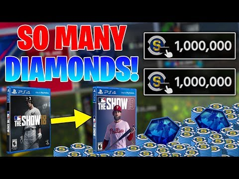 2 MILLION STUB PACK OPENING! Final Video Of MLB The Show 18