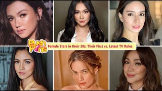 Female Stars in their 30s: Their First vs. Latest TV Roles | Push Pins