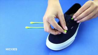 HICKIES Lacing technique Vans sneakers
