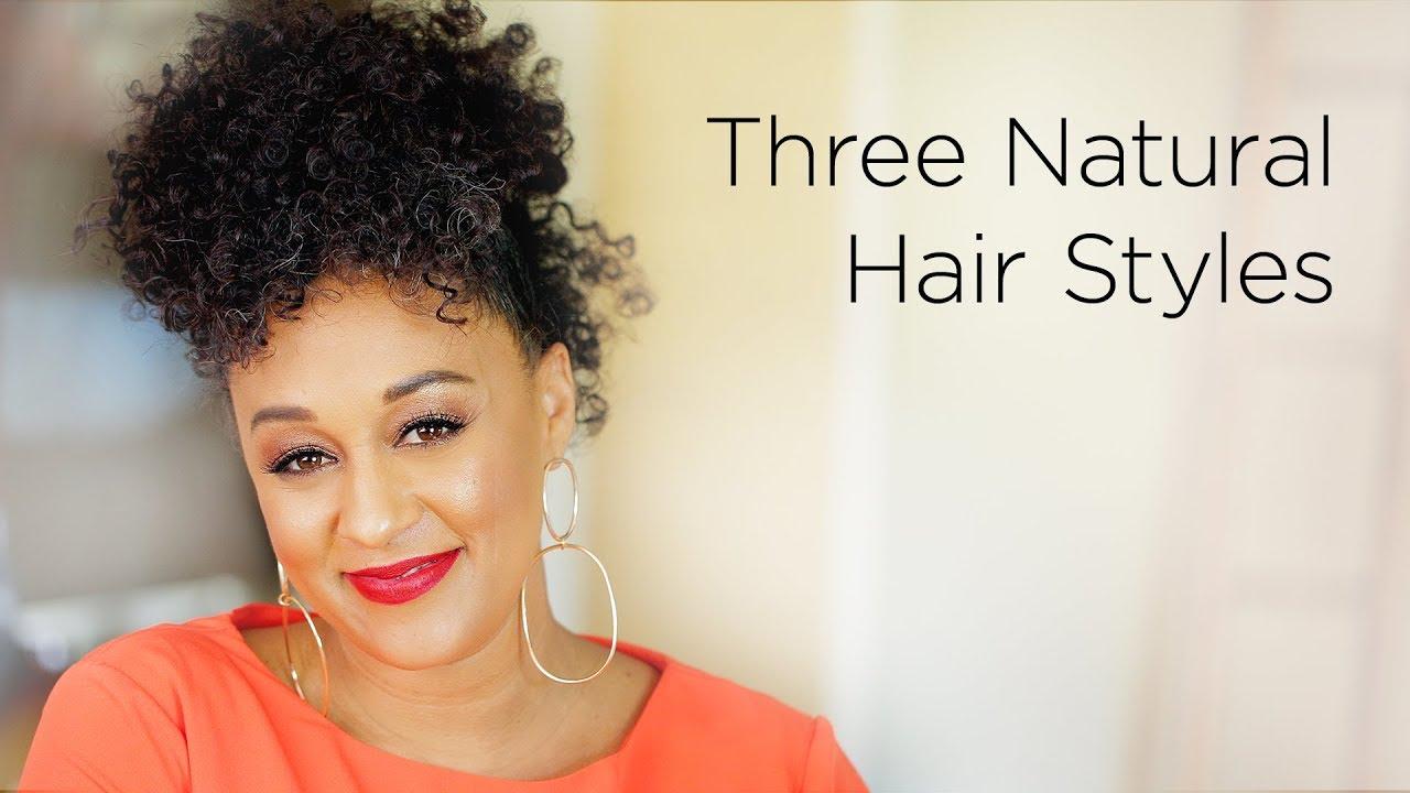 Tia Mowry S 3 Modern Ways To Wear An Afro Quick Fix