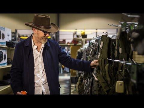Adam Savage Explores a Military Surplus Store