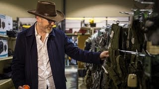 Adam Savage Explores a Military Surplus Store