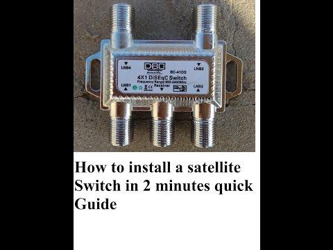 hook up multiple bell satellite receivers