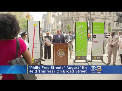 'Philly Free Streets' Will Be Held On Broad Street This Year