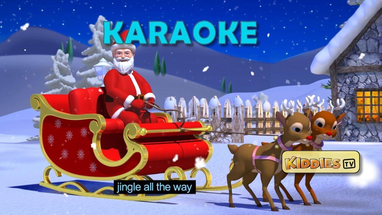 Jingle bells rhyme sing along | Karaoke | Christmas song | Youtube ...