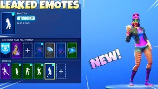 ALL NEW! DANCE EMOTES! (Leaked) Fortnite Battle Royale