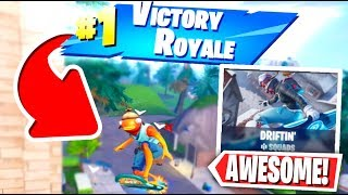 *NEW* Fortnite Drift board Gameplay! (Fortnite DRIFTN' LTM Gamemode)