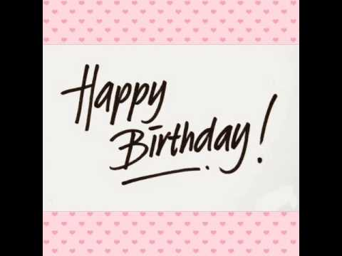 Lagu Happy birthday.... 🎂🎂🎂