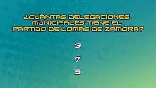 Trivia: ¿Cuántas delegaciones municipales tiene el partido de Lomas de Zamora?