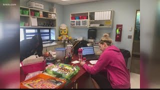 Spokane teachers find creative ways to stay in touch with students