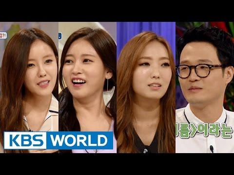 Hello Counselor - Soyeon, Hyomin, Cho Jungchi & Jungin (2015.09.07)