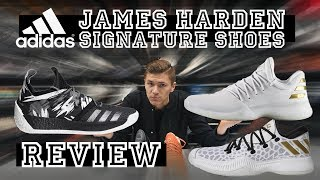 HARDEN VOL.2 VS HARDEN VOL.1 VS HARDEN B/E | James Harden Signature Shoe Review | ProBasketball