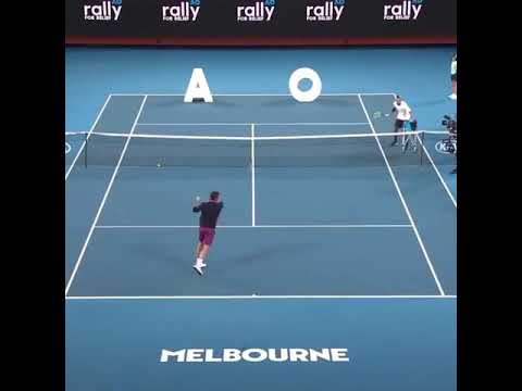 Target practice with Roger Federer and Nick Kyrgios.
