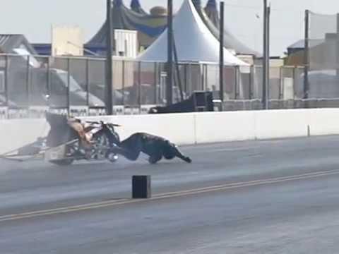 Top Fuel Bike Crash Youtube