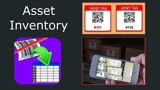 Advanced Asset inventory with Scan to Spreadsheet