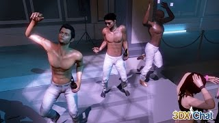 3DXChat multiplayer adults game. Boys, Boys, Boys. Video for girls