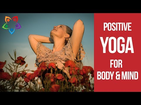 Best Morning Flow Yoga Workout for Positive Mind ♥ Perfect 30 minutes Yoga Workout for Positivity