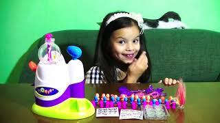 Oonies Унис Фигуры из шаров Конструктов из шариков Животные из шаров Видео для детей