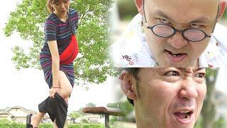 パンティを脱ぐ女性。怖いおじさん【夏ドラマ「夏と空色のパンティー」黒色編】