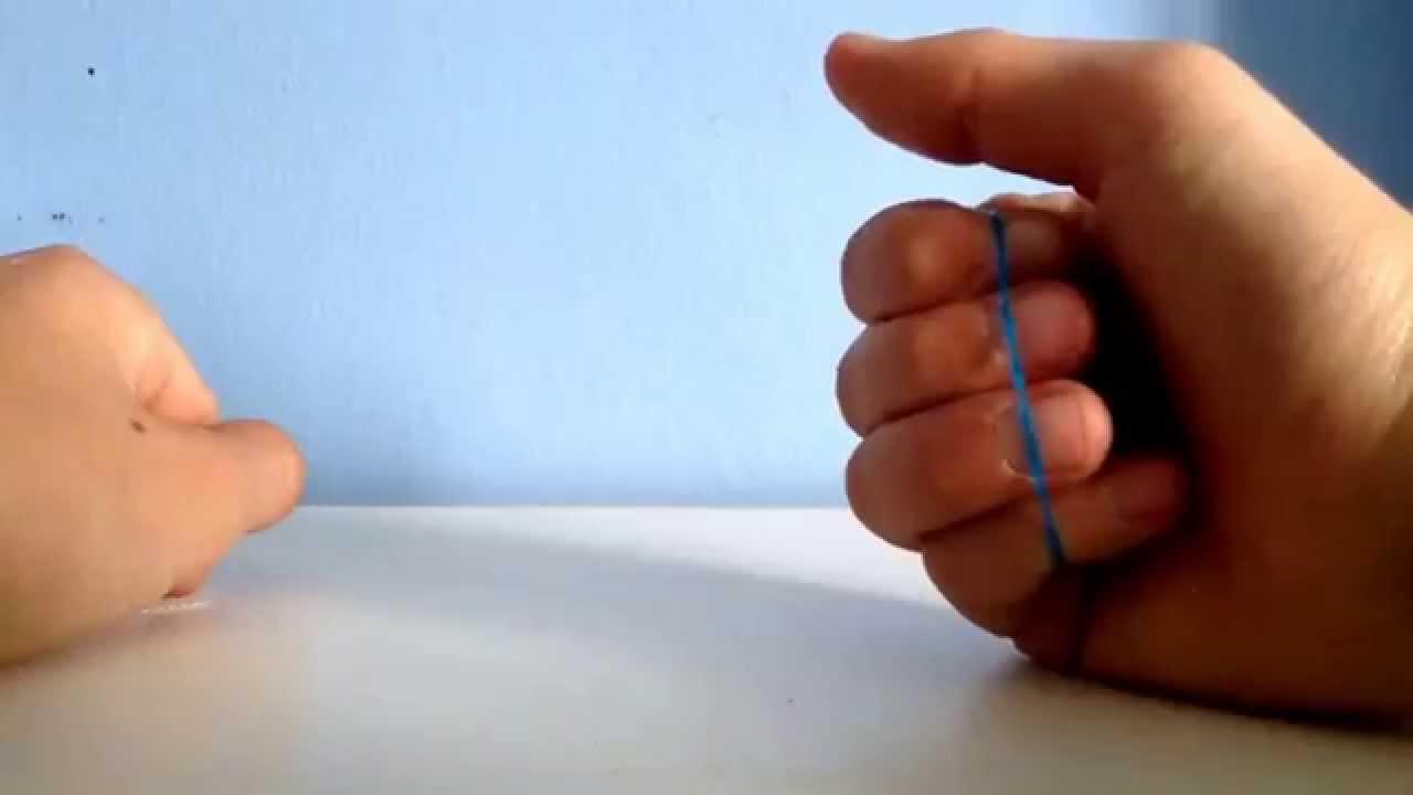 tour de magie avec un elastique