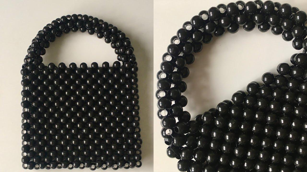 BONCUK ÇANTA YAPIMI | How To Make a Bead Bag
