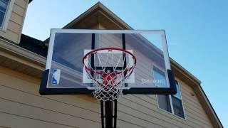Spalding basketball goal review