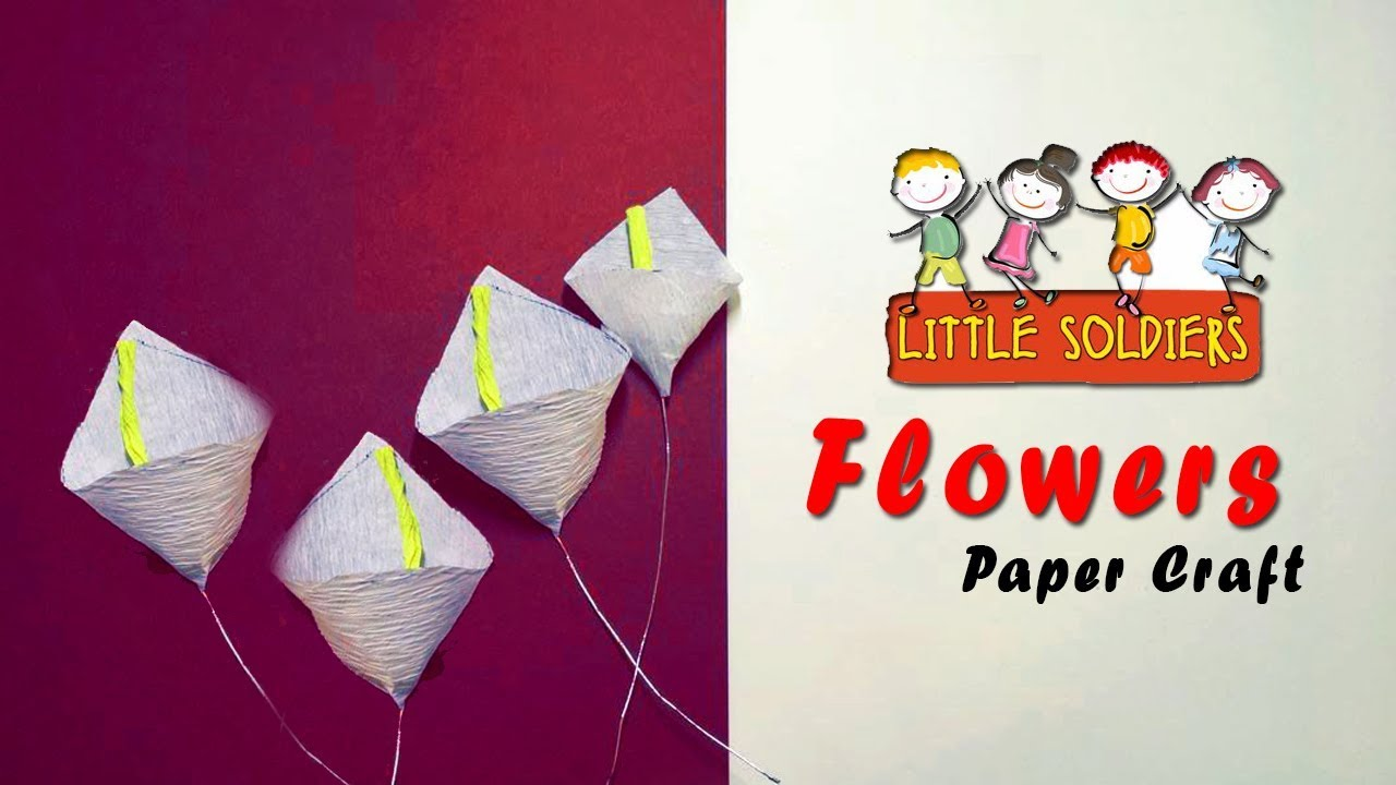 how to make a origami flower for beginners