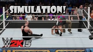 WWE 2K15 SIMULATION: Undertaker vs Bray Wyatt | Wrestlemania 31
