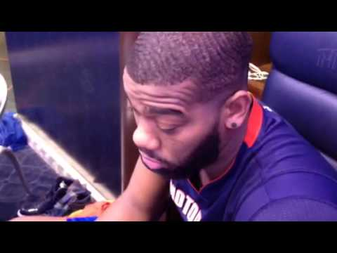 Detroit Pistons' Greg Monroe dismisses rumor that he has deal with New York Knicks